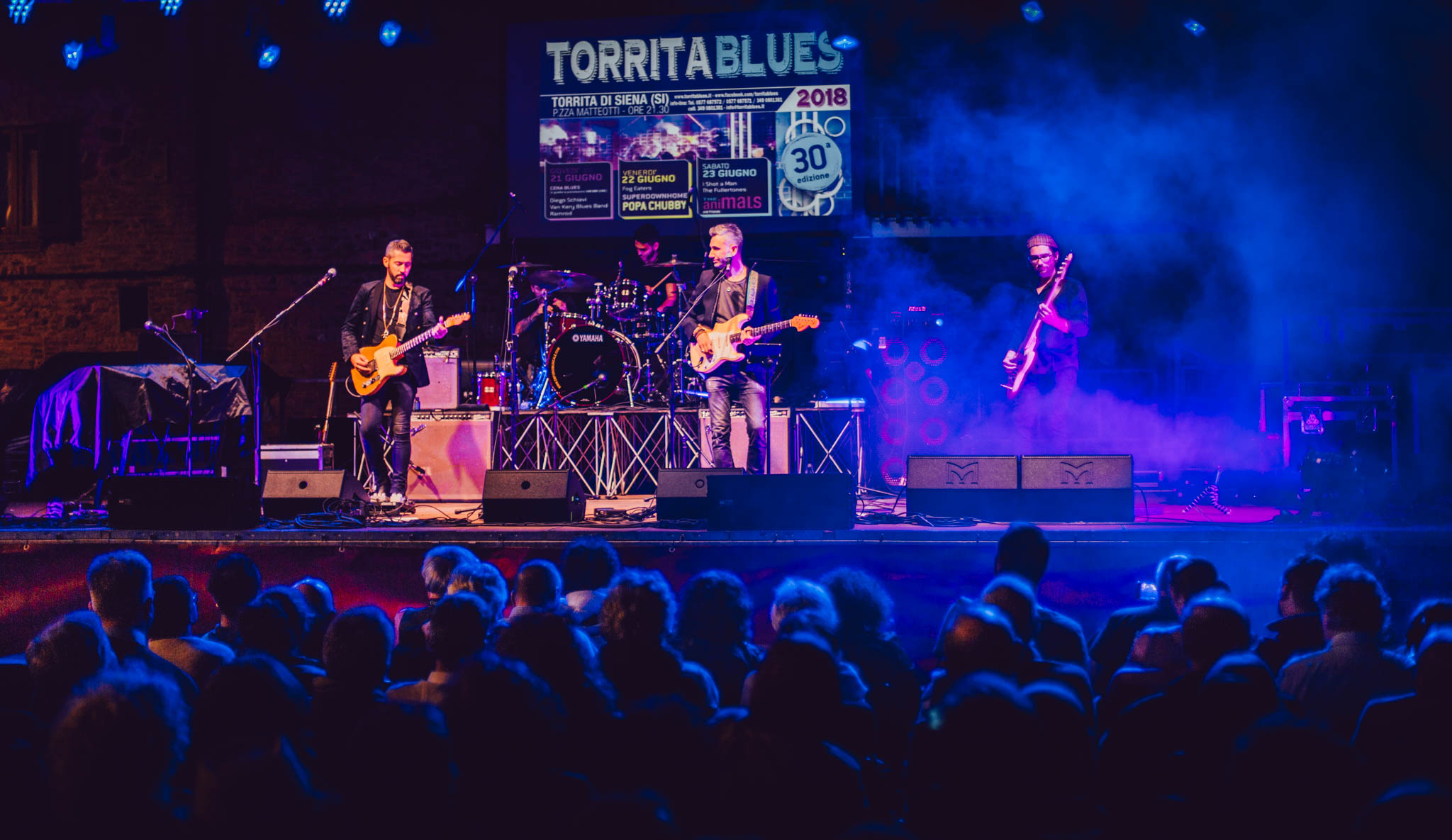 The Fullertones live at Torrita Blues